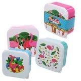 Snackboxset Flamingo's_