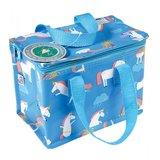 Lunchbag / koeltas Eenhoorn - blauw_