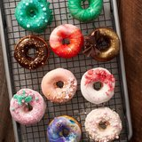 Donut bakvorm RVS | Wilton donut bakvorm_