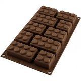Easy block legostenen blokkenvorm - siliconen vorm Silikomart_