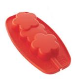 Silikomart ijsjesvorm bloemen - siliconen ijsjesvorm met lollystokjes_