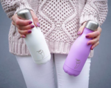 Chilly's bottle - pastel paars | lila (500 ml.)_