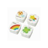 Mini bakjes rainbow_