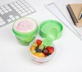Yoghurt en snack to go groen | Sistema_