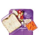 Bento lunchbox met yoghurtpotje 165 ml - paars | Sistema_