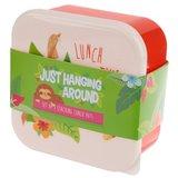 Snackboxset met luiaard - set van 3_