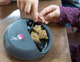 Snackdisk grijs spin | Carl Oscar_