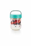 Food jar to go snacks - blauwgroen| Lekue_