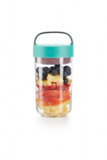 Food jar to go 600 ml. - blauwgroen| Lekue_