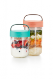 Food jar to go 600 ml. - roze | Lekue_