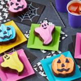 Halloween bakvorm RVS - spook, pompoen_