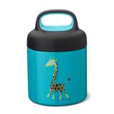 Thermo food jar turquoise giraf | Carl Oscar_
