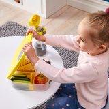 b.box lunchtrommel met vakken geel