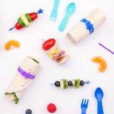 Productbundel: wrap bands + stix + fork&spoon set | Kleur geel_