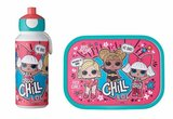 Lunchset Campus (pop-up drinkfles + lunchbox) - LoL surprise_