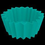 bento bakjes siliconen groen