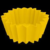 bento vormpjes geel siliconen