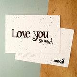 bloeikaart kopen love you