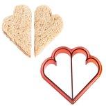 Boterham uitsteekvorm hart