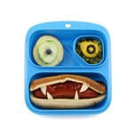 Small meal blauw - 2 vaks lunchtrommel