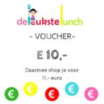 Voucher 10 euro is 11 euro waard