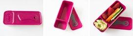 Snack 'n dipbox - roze / paars