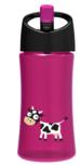 Waterfles Purple-Pink Cow - Carl Oscar