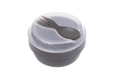 N'ice cup - snack to go met koelelement grijs