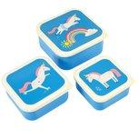 Snackboxset eenhoorn & regenboog