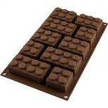 Easy block legostenen blokkenvorm - siliconen vorm Silikomart