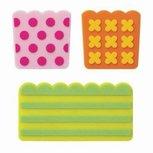 Vrolijke print siliconen verdelers - baran sheets