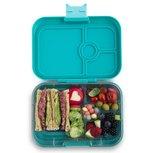 Yumbox lunchtrommel Kashmir blauw groen | panino 4 vakken