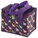 Lunchbag / koeltas betoverende eenhoorn - paarse tas