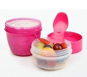 Yoghurt en snack to go roze | Sistema