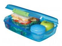 Trends bento lunchbox met boterhamlade - blauw | Sistema