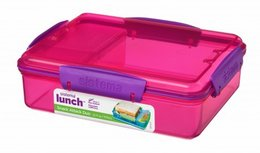 Lunchbox snack attack duo - roze| Sistema