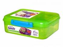 Bento lunchbox met yoghurtpotje 165 ml - groen | Sistema