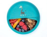 Snackdisk turquoise giraf | Carl Oscar