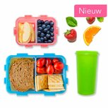 Lunchbox set Lock&Lock + gratis drinkbeker