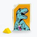 T-rex to go water flacon - Mustard