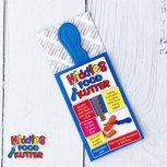 Kindvriendelijk mes - blauw | Kiddies foodkutter