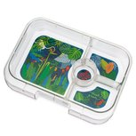Yumbox losse insert / tray thema jungle - 4 vakken
