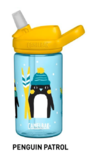Camelbak kinderfles Eddy - pinguins winter