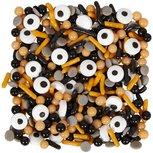 Griezelige sprinkles mix met oogjes
