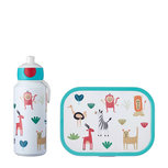 Lunchset Campus (pop-up drinkfles + lunchbox) - friends