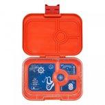 Yumbox 4 vakken explore tray | Oranje