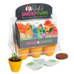 Kweekset Snoep Tuintje eetbare bloemen | Buzzy Kids