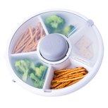 GOBE snack spinner - snackbox grijs
