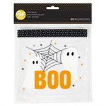 Halloween BOO boterham-traktatiezakje
