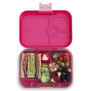 Yumbox lunchtrommel LOTUS roze - 4 vakken
